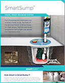 SmartSump™ Crawl Space Drainage System