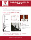 Radon System Premium Warranty