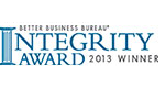 Omaha Better Business Bureau Integrity Award